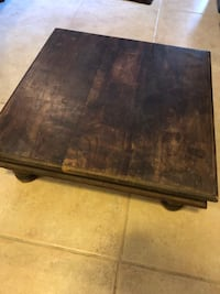 Antique butcher block - strong, perfect and sturdy Boca Raton, 33433