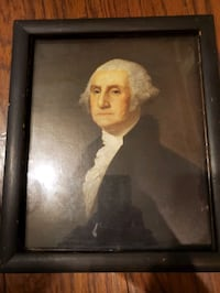 Vintage  George Washington painting/print?