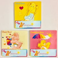 Care Bears Wooden Inlay Puzzles. For 18mo old and up (2 Puzzles Per Pack). 3 Packs Available $6 Each - BRAND NEW SEALED. See my other offers Stockton, 95209