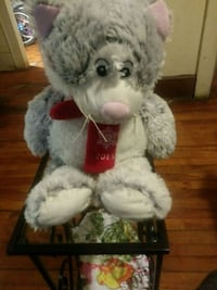 white and gray bear plush toy Syracuse, 13204