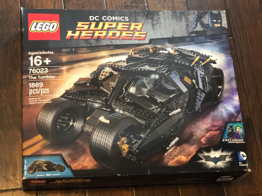 Photo LEGO 76023 Batman Tumbler