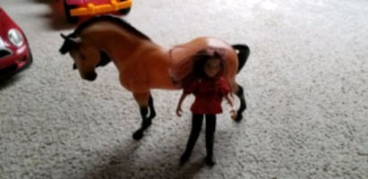 Spirit doll and horse..