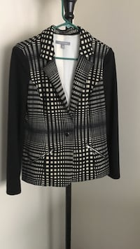 Black white gray blazer Lincolnwood, 60712