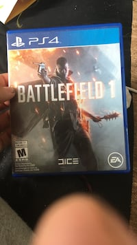 Battlefield 1 PS4 game case St Catharines, L2R 2P8