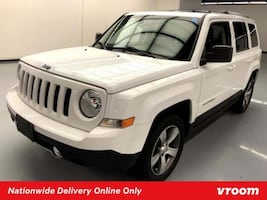 2016 Jeep Patriot Bright White Clearcoat hatchback