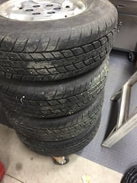 Chevy 6 bolt 16 inch rims and tires Yorkton, S3N 2C7