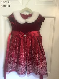 4T Girl Holiday Dress Waldorf