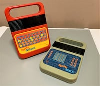 Vintage Speak & Spell and Speak & Math games Halifax
