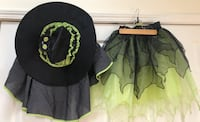 Pottery barn witch costume girls 7/8