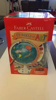 Faber Castell My World Of Art Toy for sale  Oakwood, CA