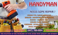 Handyman, Painting, Shower Door, Fans and more Orlando