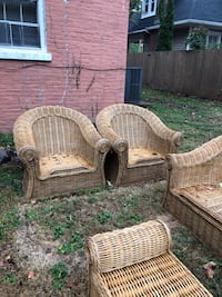 Large Wicker Patio Set  Murfreesboro, 37130