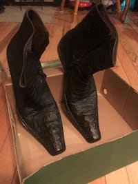Men's Fiesso Aurelio Garcia -Black Alligator Boots size 13 Washington