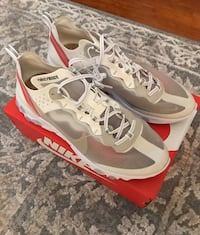 Nike React Element 87 Sail Bone / Black Woodlands