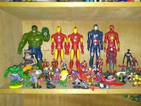 assorted Marvel action figures Tumwater, 98501