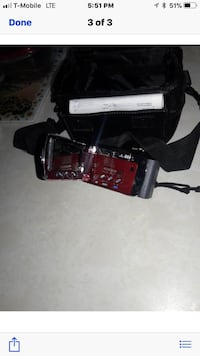 Jack camcorder with case an charger  Attleboro, 02703