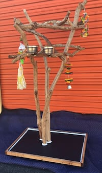 Big and gorgeous- Macaw / cockatoo perch tree - looks great, perfect for your bird !! Irvine, 92614