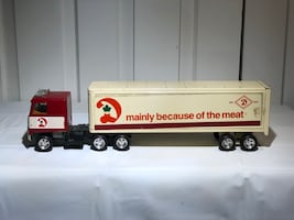 Vintage Dominion ERTL Model Transport Truck