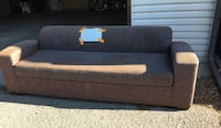 Brown fabric sofa and loveseat Calgary, T1Y 3S4