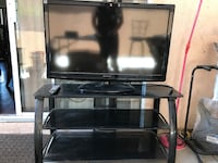 "TV Stand include 40"" inch TV (Need Repair) Pomona"