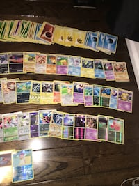 assorted Pokemon trading card collection Mississauga, L5N 7Z9