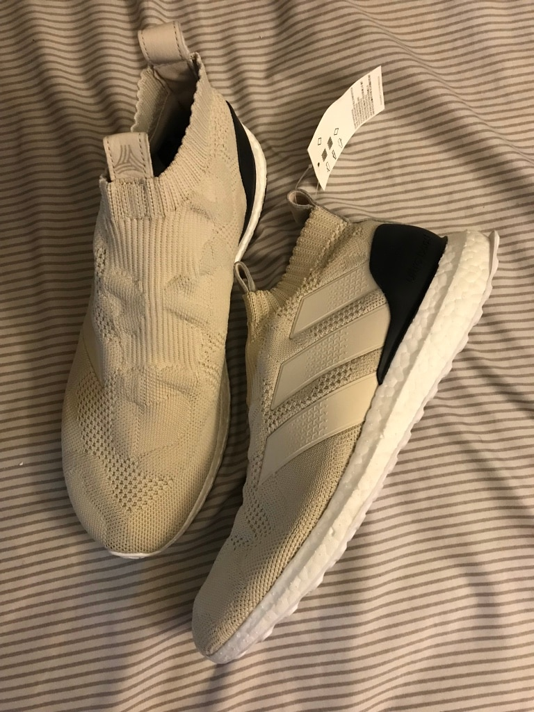 Used ADIDAS ACE 16+ PURECONTROL ULTRABOOST SIZE 7.5 BRAND