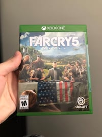 Far Cry 5 For Xbox One Very Good Condition  Edmonton, T6X