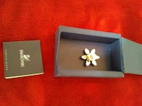 REDUCED Swarovski snowflake tac pin Manchester Township, 08759
