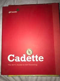 Girl Scouts Cadette Learning kit binder El Paso, 79935