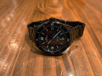 Automatic Diver's Watch - PVD Black Bloomington