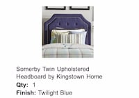 Twin Upholstered headboard  Washington