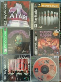 PS1 games for sale individually  Vaughan, L4L