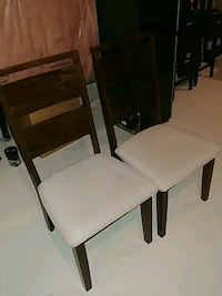6 kitchen chairs brand new hardwood Vaughan, L0J