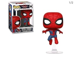 Spiderman: Into the Spider Verse Pop Figure.