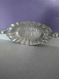 1960's World Hand Forged alluminum serving tray