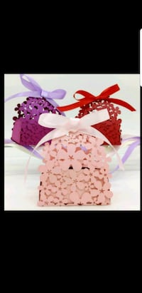 Wedding/Party Gift Favor boxes (for candies) Toronto, M2N 2S7