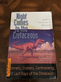 Night Comes to the Cretaceous, by James Lawrence Powell Dumfries