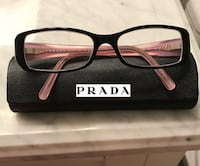 Authentic Prada women's eyeglasses black frames Toronto, M9C 1B8
