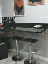 2 swivel bar stools that go up and down a year old Gaithersburg, 20877