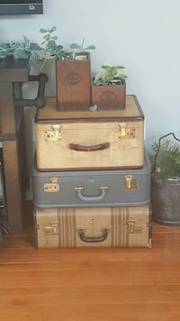 3 vintage suitcases???????????? Mount Airy, 21771
