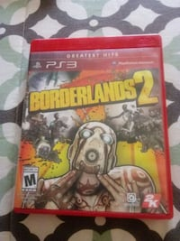 Barely used Borderlands 2 for ps3