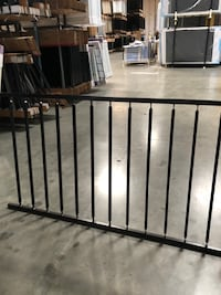 Rackable / biasable 3'hx8'w steel fence (railings and slopes) Riverside, 92501