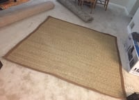 Square Brown Rug Great Falls, 22066