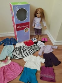 AMERICAN GIRL DOLL WITH CLOTHES  Kitchener, N2E 1E3