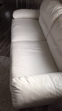 white leather 2-seat sofa Edmonton, T5S 2B4