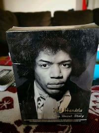 Jimi hendrix three disc box set never been opened  Edmonton, T5A 3R8