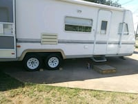 white and gray RV trailer Georgetown, 78628