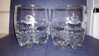 two clear Crown Royal drinking glasses Colorado Springs, 80922