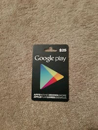 $25 Google Play Card Winnipeg, R2J 3R2