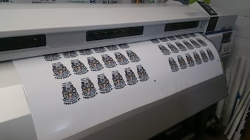Printed and Die Cut Decals starting at $1 per impression